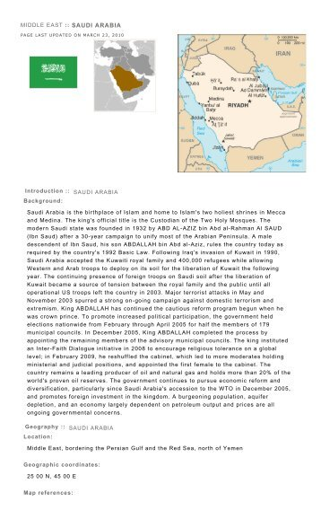 Page 1 of 14 CIA - The World Factbook 05/04/2010 https://www.cia ...