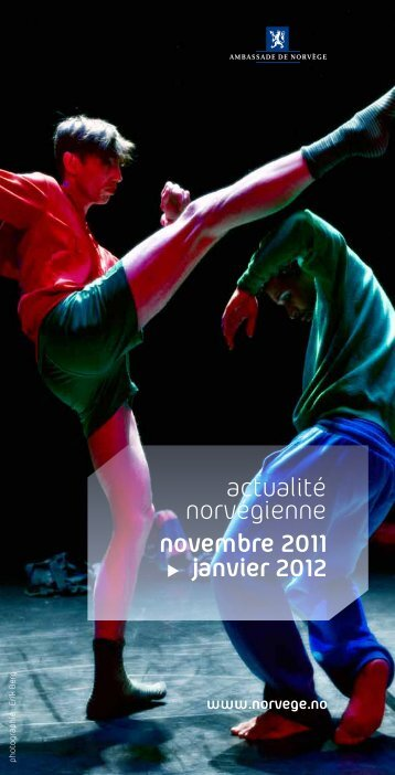 novembre 2011 janvier 2012 actualité norvégienne - Norvège