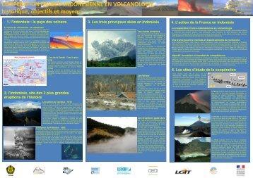 COOPERATION FRANCO-INDONESIENNE EN VOLCANOLOGIE historique, objectifs et moyens