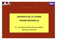 incident_chaine_tran.. - Coordonnateurs Régionaux d'Hémovigilance
