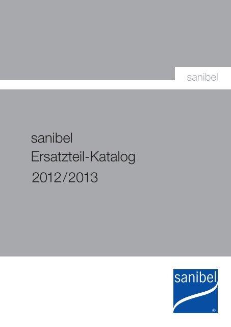 Sanibel Ersatzteil Katalog