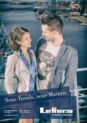 Neue Trends, neue Marken.