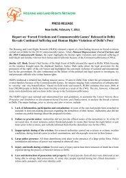 Press Release, February 7, 2011 - hic-sarp.org
