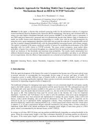 Stochastic Approach for Modeling Multi-Class Congestion Control ...