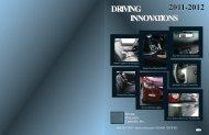 DRIVING INNOVATIONS DRIVING INNOVATIONS 2011-2012 - Rostra