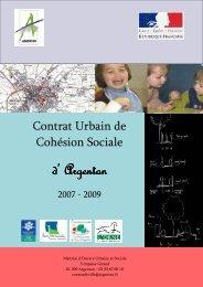 Contrat Urbain de Cohésion Sociale - Argentan