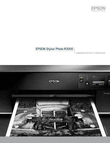 Epson stylus® photo R3000