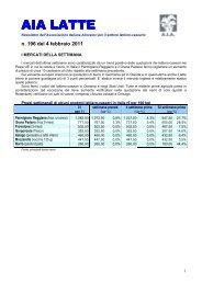4 febbraio 2011 - AIA - Associazione Italiana Allevatori