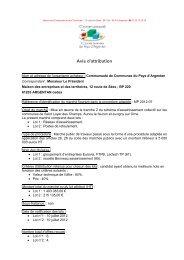 Extension des réseaux eaux usées et eau potable - Argentan