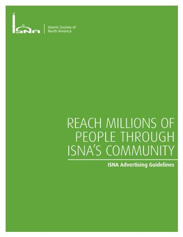 Reach millions of people thRough isna's community