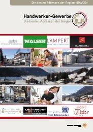 Handwerker- und Gewerbeinfo Davos 2015/2016