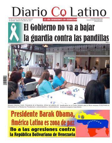 Edición 25 de Abril de 2015