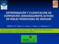 Determinación y clasificación de compuestos sensorialmente ...