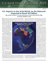 U.S.-Arab Trade Outlook - National US-Arab Chamber of Commerce