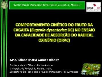 Msc. Ediane Maria Gomes Ribeiro