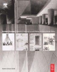 Architect Drawings : A Selection of Sketches by World Famous Architects Through History
