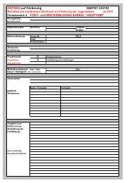 Antrag Projekte Fort- und Weiterbildung BS 2010 - Landkreis ...