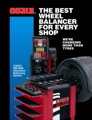 the best wheel balancer for every shop - Automotive Garage ...