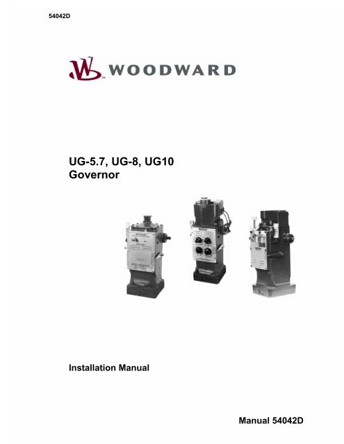 woodward governor manual 8