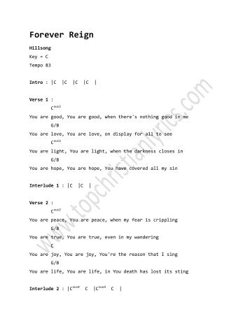 none but jesus chords pdf