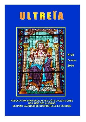 Consulter Ultreia N°25 - Les Amis de St Jacques > Provence - Alpes ...