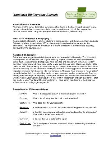 annotated bibliography on the conspiracy of Annotated bibliography knott, sarah.
