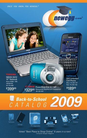 Back-to-School CATALOG - Newegg.com