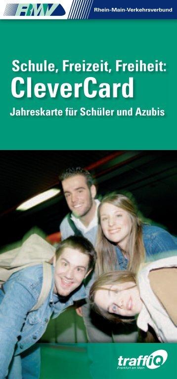 Die CleverCard Frankfurt - traffiQ