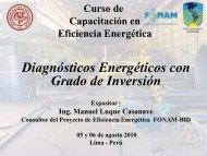 Curso de Capacitación en Eficiencia Energética - Fonam