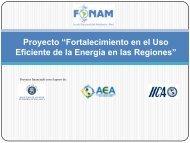 Presentación de Proyecto - Fonam