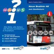 Neue Buslinie 48 - traffiQ