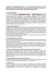 Nutzungsbedingungen für den Frankfurt Pass (gültig seit ……) - traffiQ
