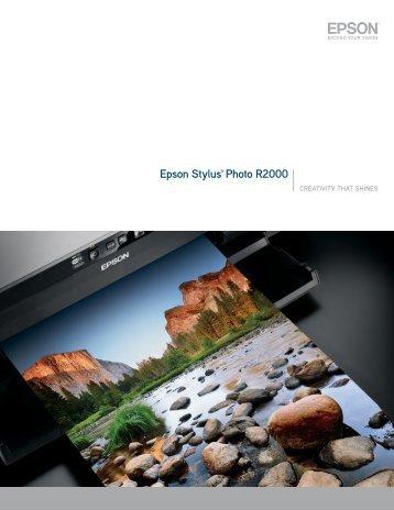 Epson Stylus® Photo R2000