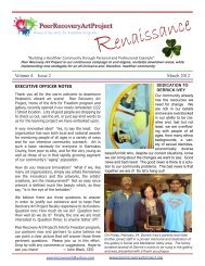 Volume 4 Issue 2 March 2012 - Peer Recovery Art Project