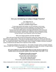 Who are single parents and their families? - The Singles Network ...