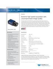 Genie HM1400 / XDR - Uniforce Sales and Engineering