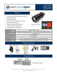 SA30 Data Sheet - Bock Optronics