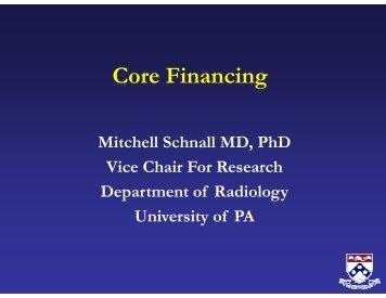 Core Financing - RSNA.org