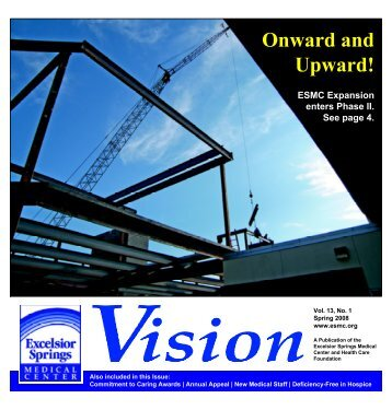 Onward and Upward! - Excelsior Springs Hospital