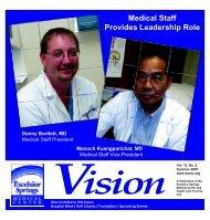 Medical Staff Provides Leadership Role - Excelsior Springs