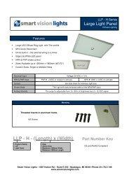 LLP-H Series Data Sheet - Bock Optronics