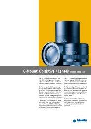 C-Mount Objektive / Lenses IR (400 - 1000 nm) - Uniforce Sales and ...