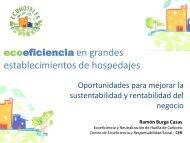 ecoeficiencia en grandes establecimientos de hospedajes - Fonam