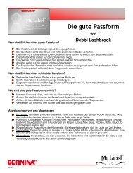 Die gute Passform - My Label 3D Fashion Pattern Software