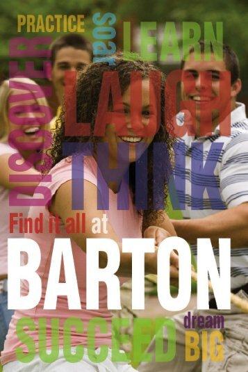 2007 – 2008 - Barton College