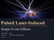 Laser Testing Results