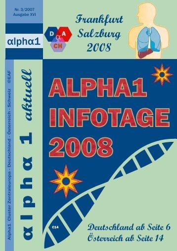 aktuell - Gesellschaft für Alpha 1-Antitrypsinmangel-Erkrankte eV