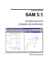 Wat is nieuw in SAM 5.1 - Artas - Engineering Software