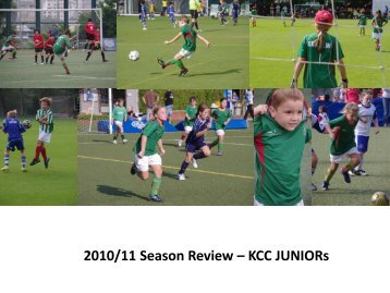 Season Review – KCC Junior Football