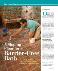 Barrier-Free Bath An old - Schluter Systems